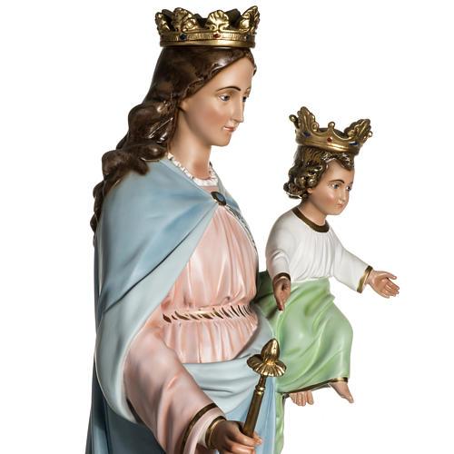 Virgen María Auxiliadora de resina de 130cm 12
