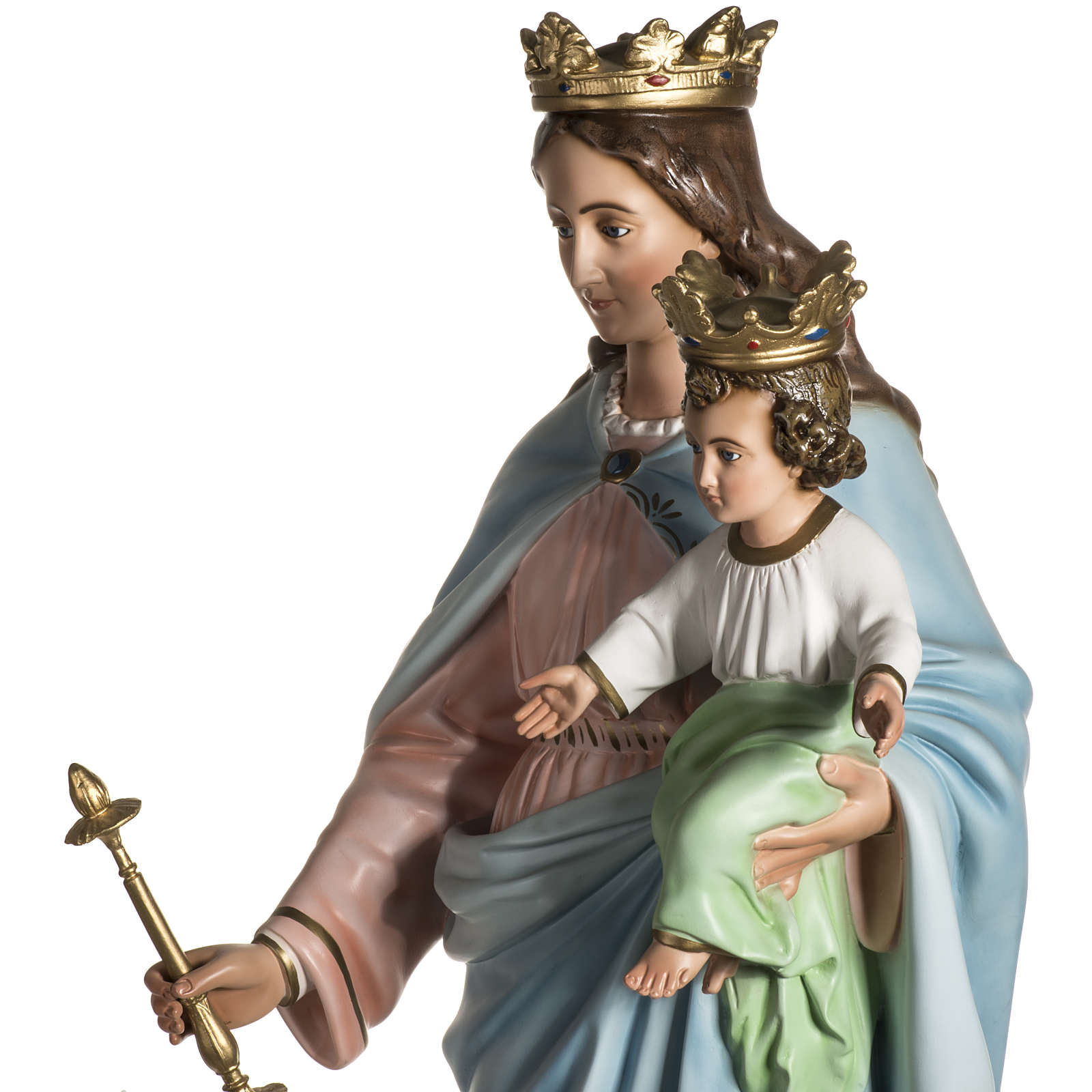 Our Lady Help of Christians statue in resin, 130 cm 4