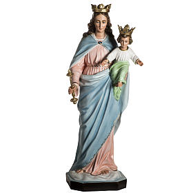 Our Lady Help of Christians statue in resin, 130 cm s3