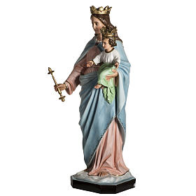 Our Lady Help of Christians statue in resin, 130 cm s9