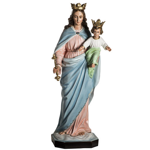 Our Lady Help of Christians statue in resin, 130 cm 3