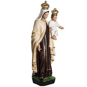 Nuestra Señora del Monte Carmelo en resina 60cm s4