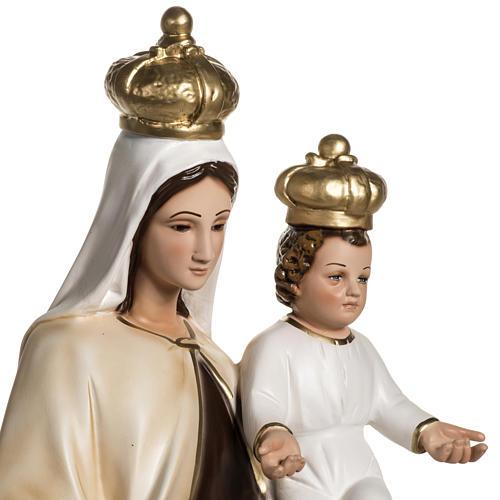 Nuestra Señora del Monte Carmelo en resina 60cm 3