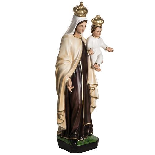 Nuestra Señora del Monte Carmelo en resina 60cm 4