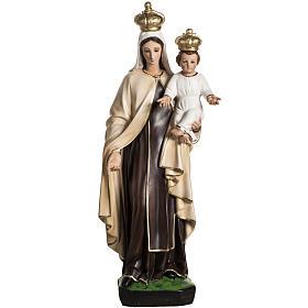 Madonna del Carmelo 60 cm resina s1