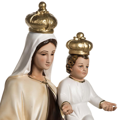 Our Lady  of Carmel statue in resin, 60 cm 3