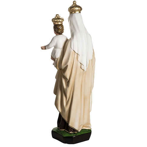 Our Lady  of Carmel statue in resin, 60 cm 7