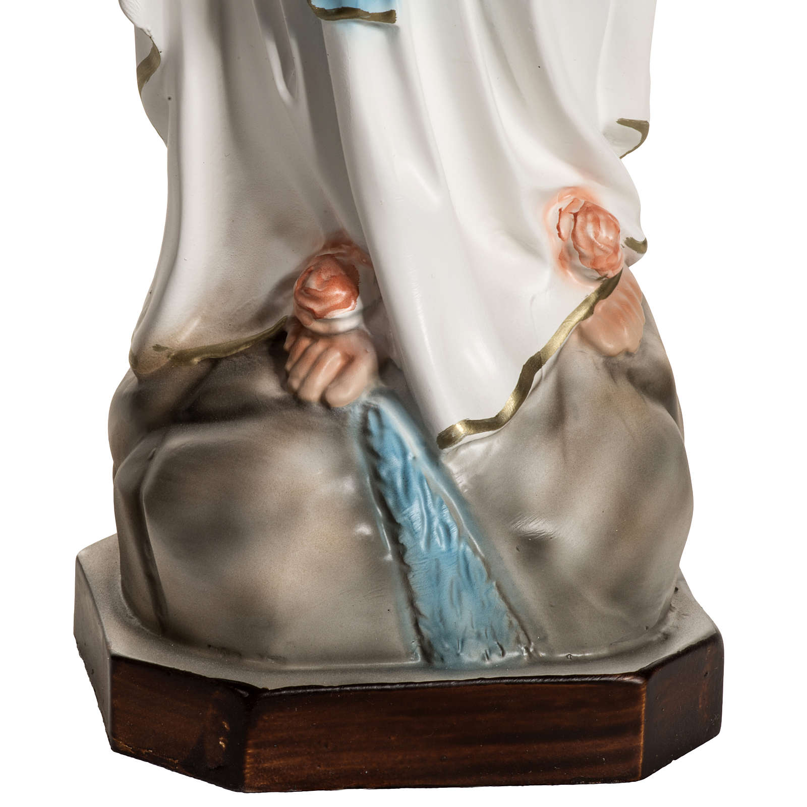 Statue of Our Lady of Lourdes in resin 40 cm 4