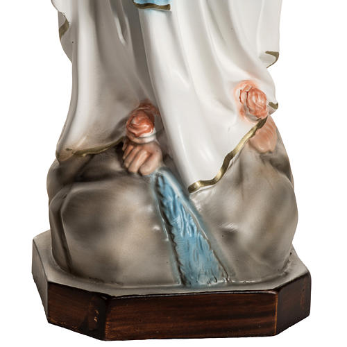 Statue of Our Lady of Lourdes in resin 40 cm 3