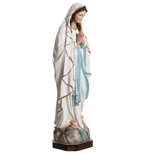 Statue of Our Lady of Lourdes in resin 40 cm 5