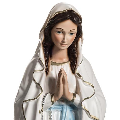 Notre Dame de Lourdes résine 40 cm 2