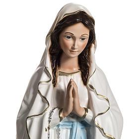 Madonna z Lourdes 40 cm żywica s2
