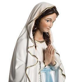 Madonna z Lourdes 40 cm żywica s4