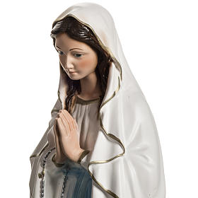 Statue of Our Lady of Lourdes in resin 40 cm s6