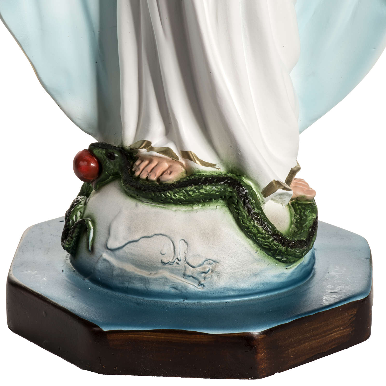 Our Lady of Miracles statue in resin, 40 cm 4