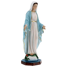 Our Lady of Miracles statue in resin, 40 cm s5