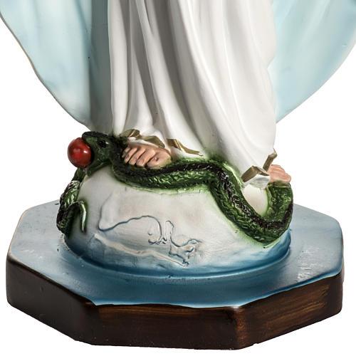 Vierge Miraculeuse résine 40 cm 3