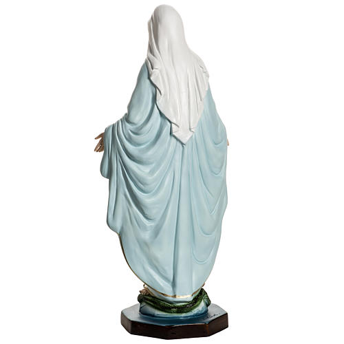 Vierge Miraculeuse résine 40 cm 6