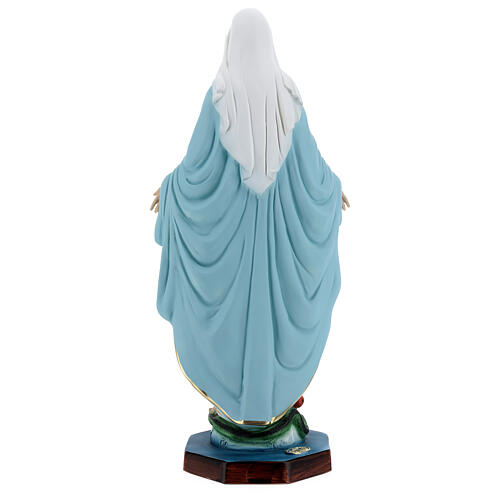 Vierge Miraculeuse résine 40 cm 7
