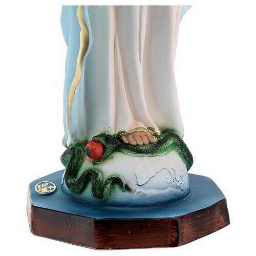 Matka Boża od Cudownego Medalika 40 cm żywica 6