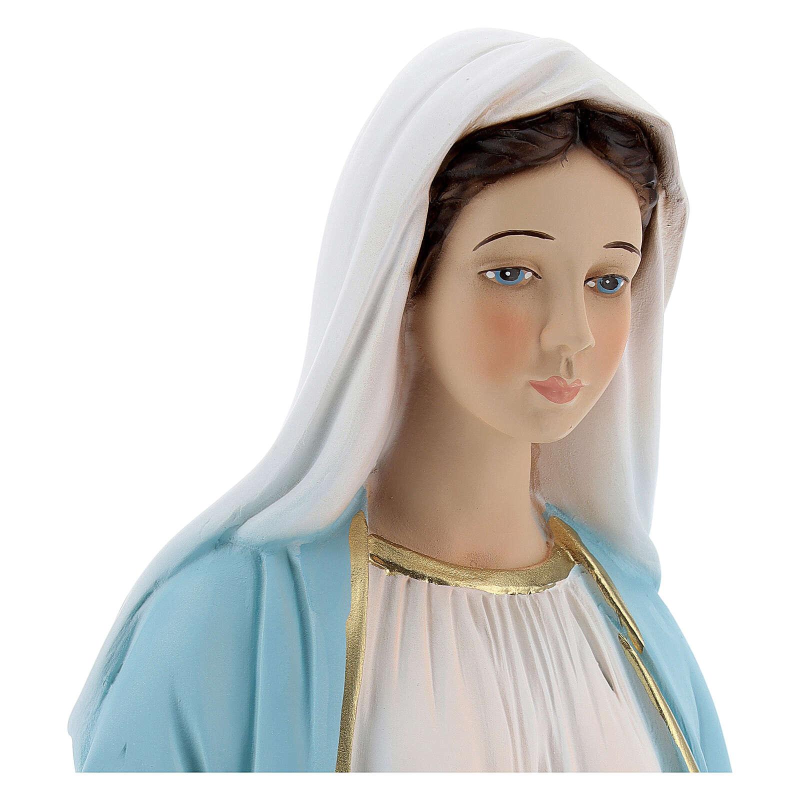 Nossa Senhora Milagrosa 40 cm resina 4