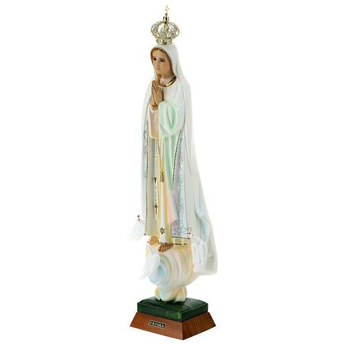 Gottesmutter von Fatima mit Tauben aus Harz 12