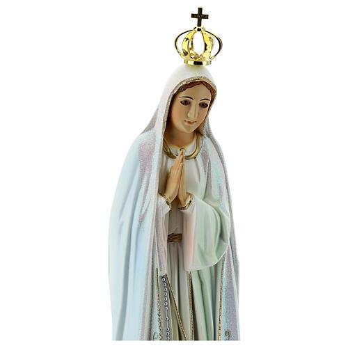 Virgen de Fátima con palomas en resina 9