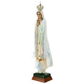 Madonna di Fatima con colombe resina varie misure s12