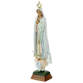 Madonna di Fatima con colombe resina varie misure s13