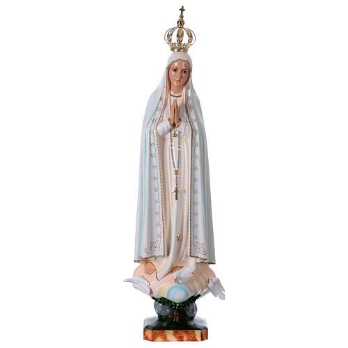 Madonna di Fatima con colombe resina varie misure 1