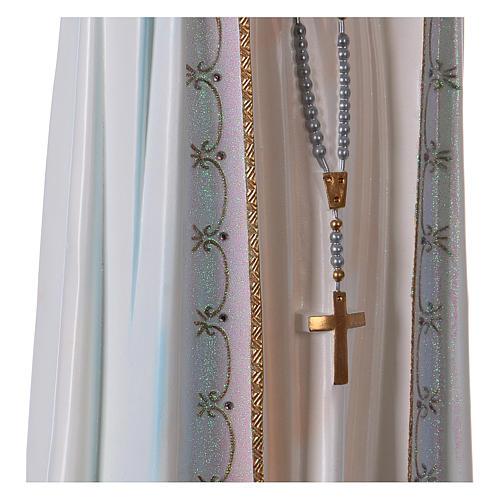 Madonna di Fatima con colombe resina varie misure 5