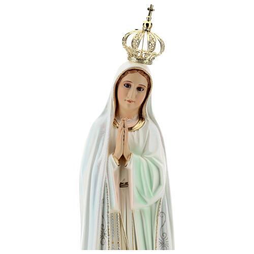 Nossa Senhora de Fátima com pombas resina tamanhos diferentes 2