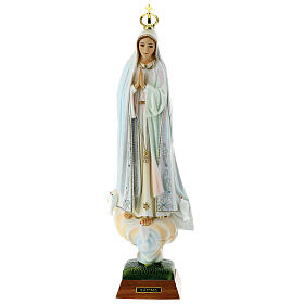 Our Lady of Fatima with Doves, resin made statue s8