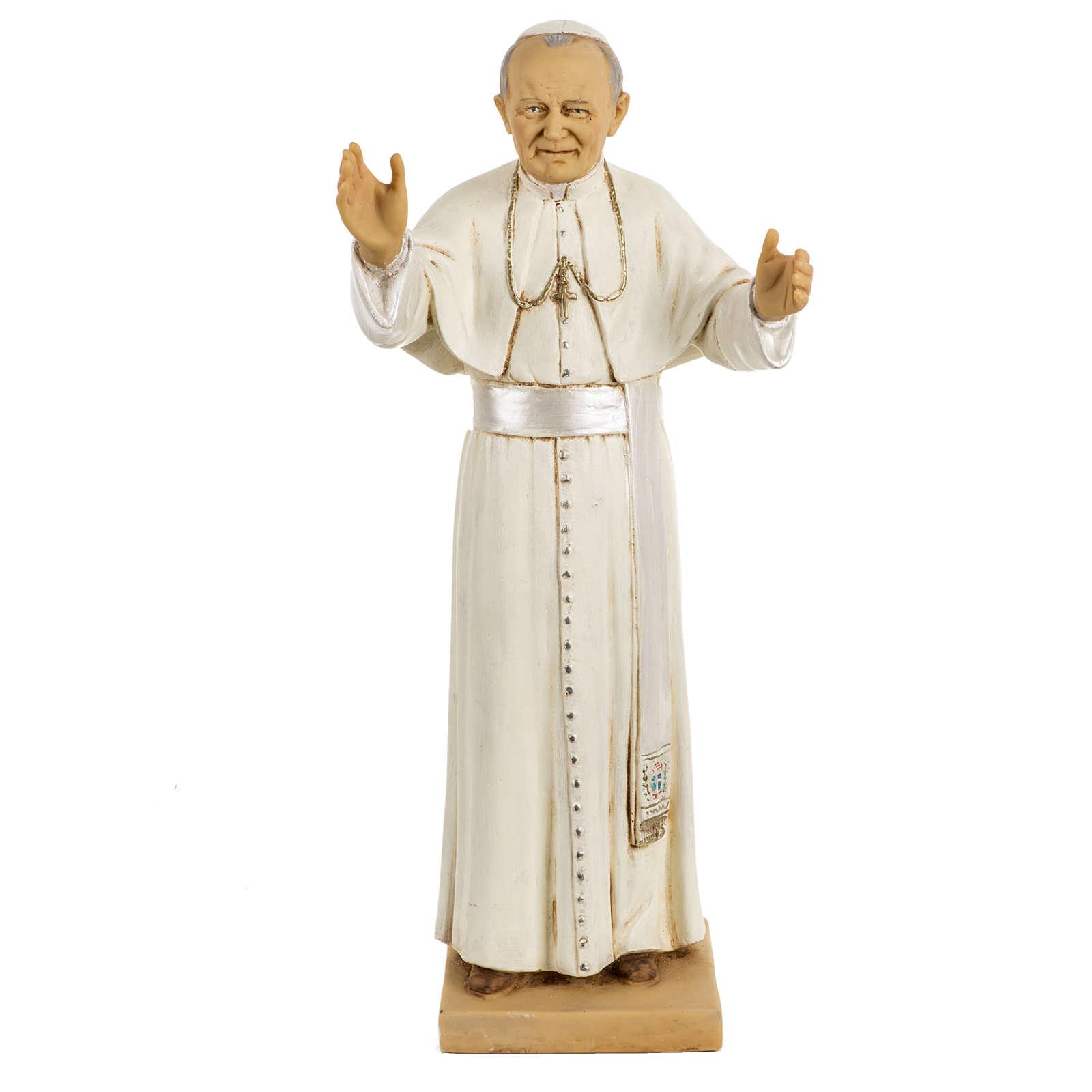 Statue Johannes Paul II 50cm, Fontanini 4