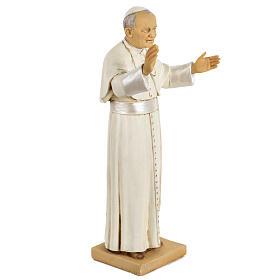 Juan Pablo II 50 cm. resina Fontanini s2