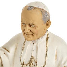 Juan Pablo II 50 cm. resina Fontanini s4