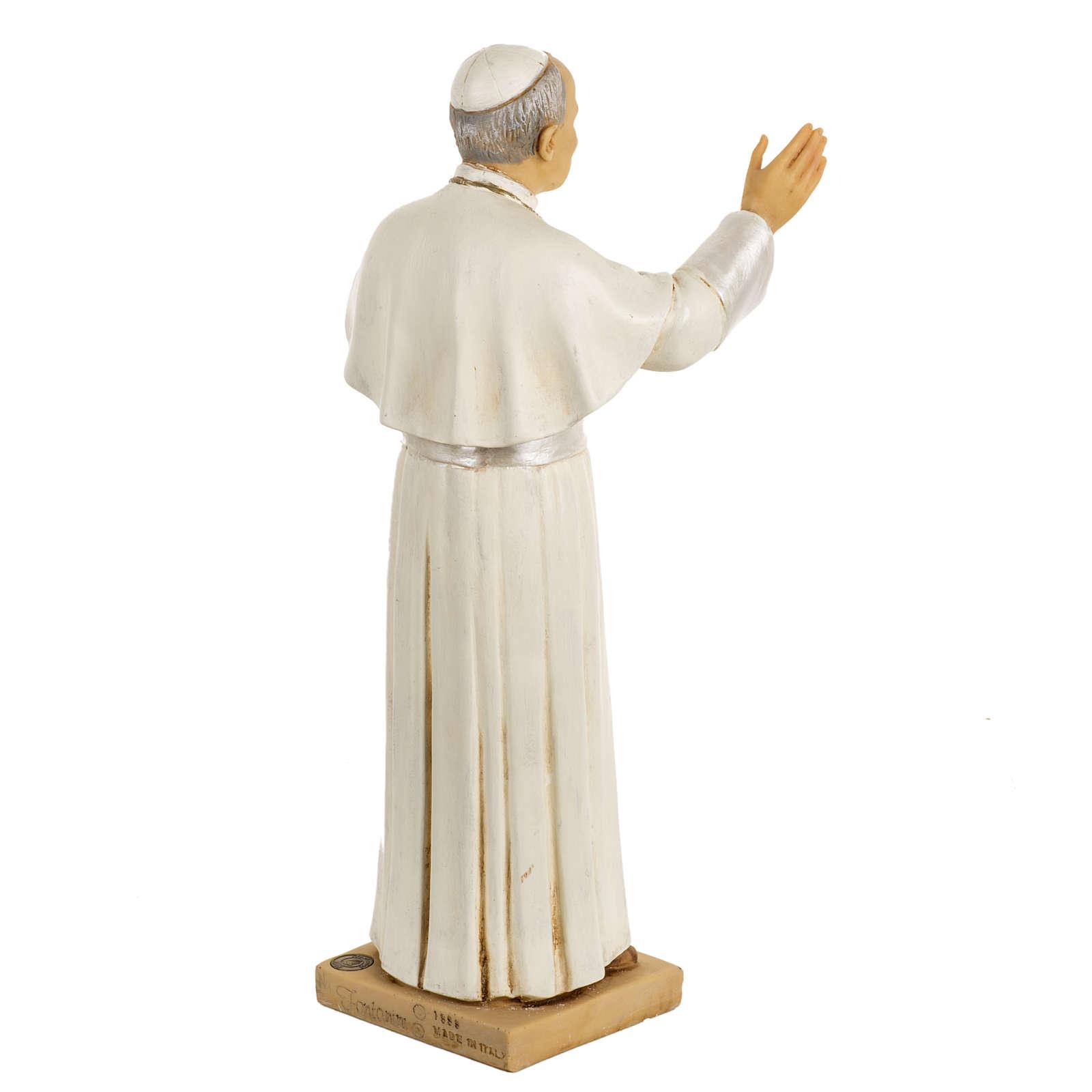 Statua Giovanni Paolo II 50 cm resina Fontanini 4