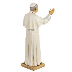 Statua Giovanni Paolo II 50 cm resina Fontanini s5