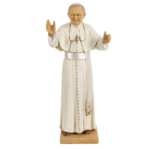 Statua Giovanni Paolo II 50 cm resina Fontanini 1