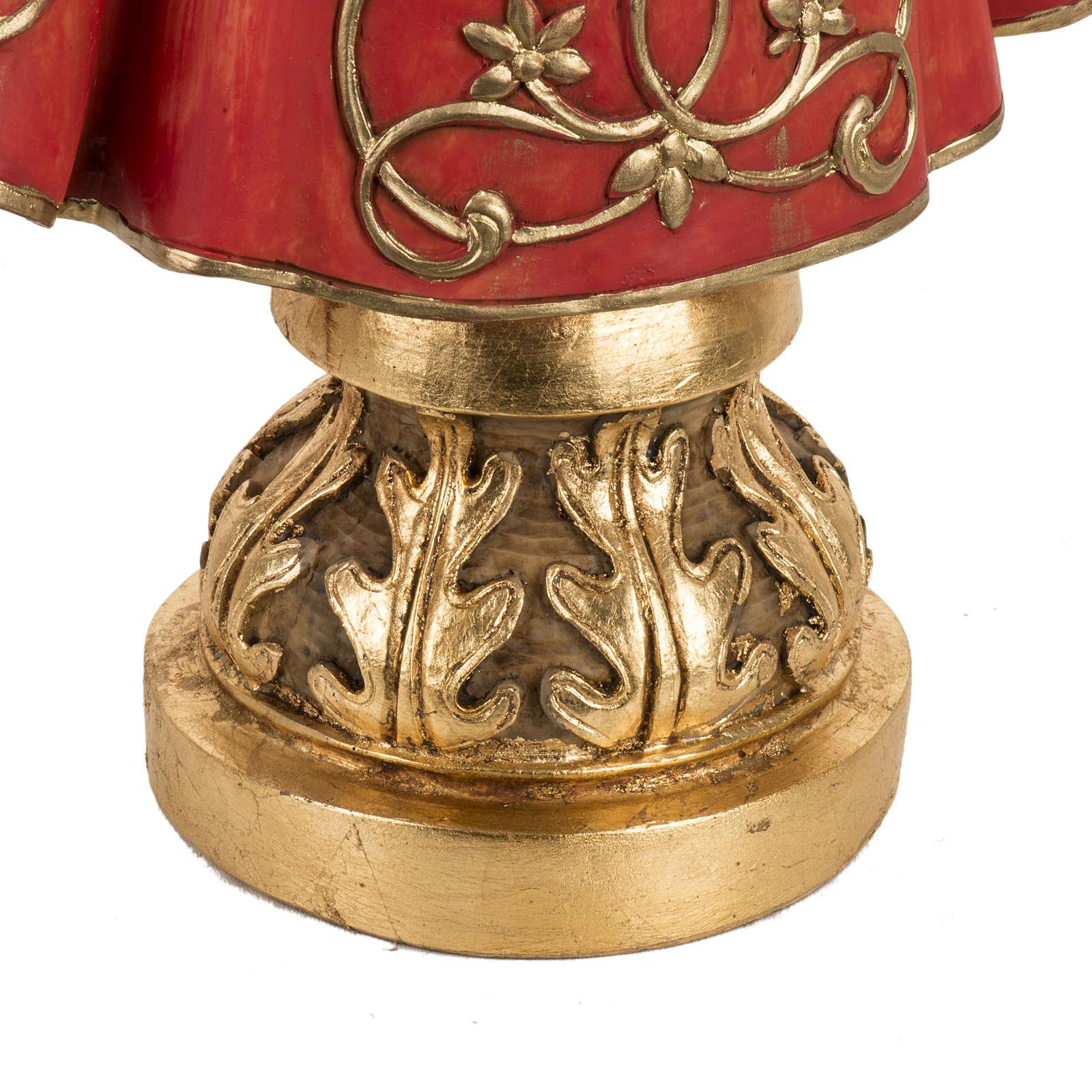 Gesù Bambino di Praga 50 cm resina Fontanini 4