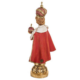 Gesù Bambino di Praga 50 cm resina Fontanini s5