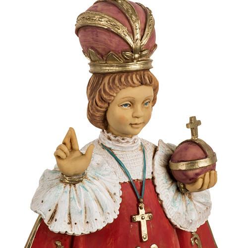 Gesù Bambino di Praga 50 cm resina Fontanini 2