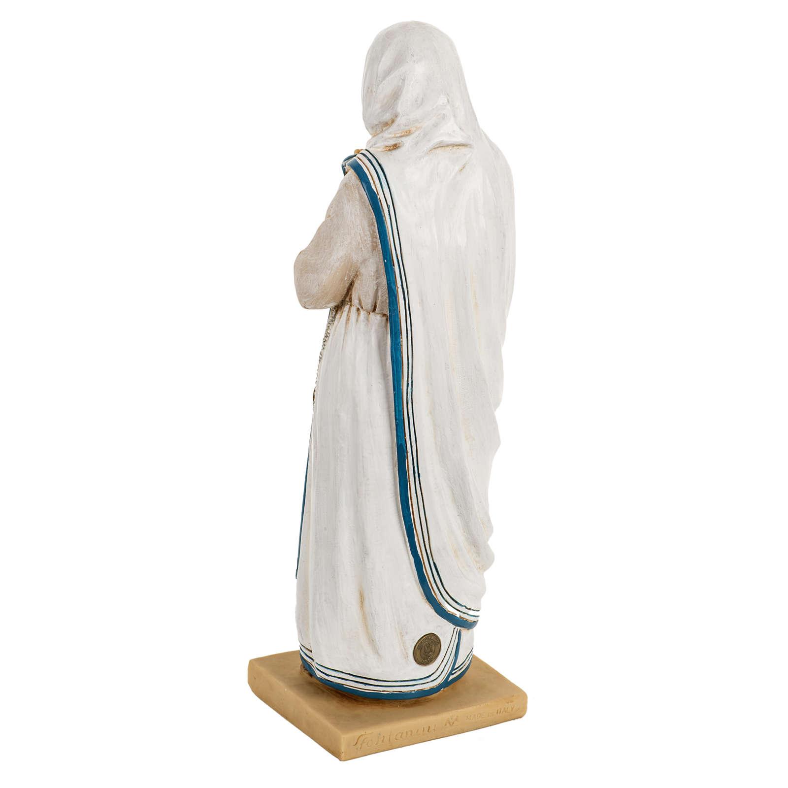 Madre Teresa di Calcutta 50 cm resina Fontanini 4