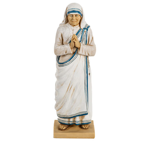 Madre Teresa di Calcutta 50 cm resina Fontanini 1