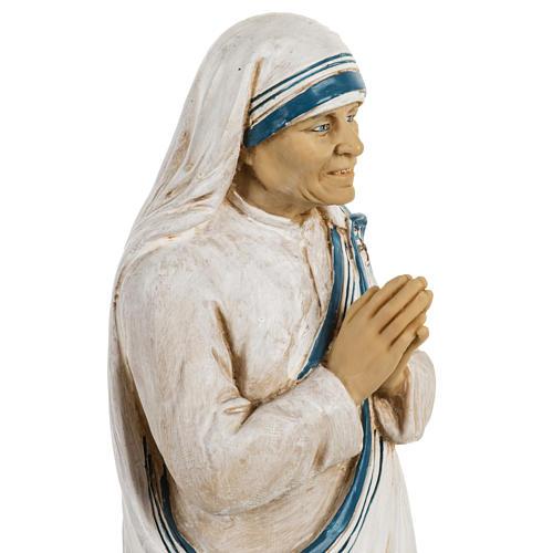 Madre Teresa di Calcutta 50 cm resina Fontanini 6