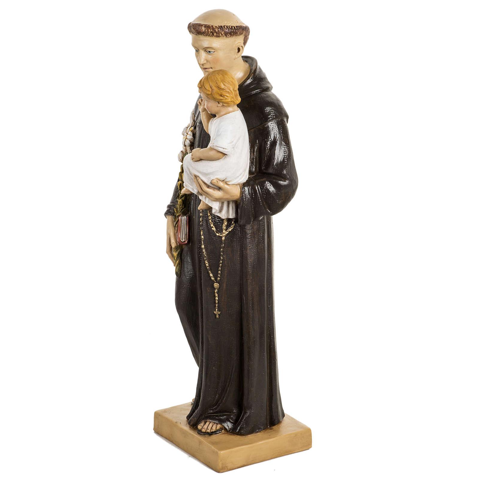 San Antonio de Padua 50 cm. estatua resina Fontanini 4