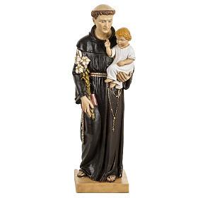 San Antonio de Padua 50 cm. estatua resina Fontanini s1