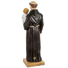 San Antonio de Padua 50 cm. estatua resina Fontanini s4