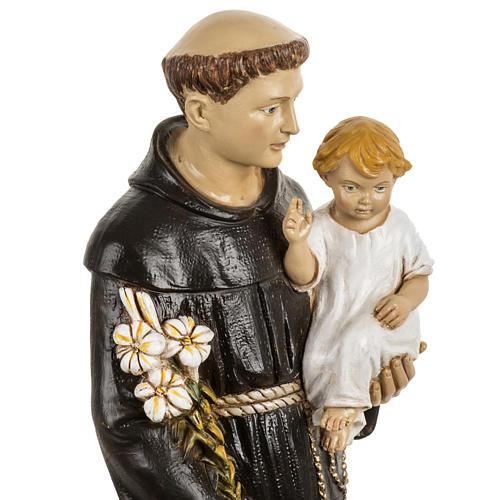 San Antonio de Padua 50 cm. estatua resina Fontanini 2