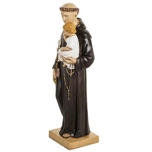 San Antonio de Padua 50 cm. estatua resina Fontanini 3